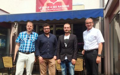 Conférence de presse : Constitution « PCSI Jura section Moutier »